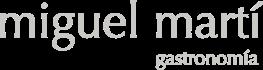 Miguel Martí Gastronomía Logo